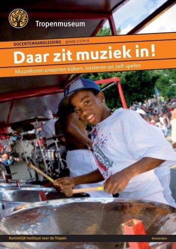 Daar zit muziek in! - Tropenmuseum