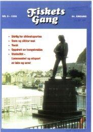 Fiskets Gang. Nr 9. 1998