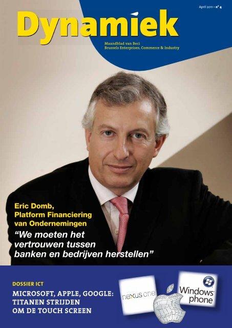 """""""We moeten het vertrouwen tussen banken en bedrijven ... - BECI"""