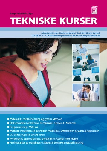 TEKNISKE KURSER - Adept Scientific