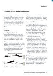 Veiledning for bruk av tabeller og diagram Vedlegg 5