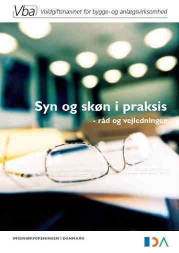 Syn og skøn i praksis - Voldgiftsnævnet for bygge- og ...