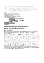 Referat 2003-03-23 - Nordborg Golfklub