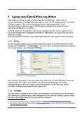 Effektiv tekstbehandling med Openoffice.org Writer 3+ - Page 4
