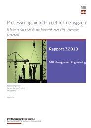 Processer og metoder i det fejlfrie byggeri - Byggeriets Evaluerings ...