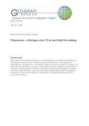 Rapport - Hordaland fylkeskommune