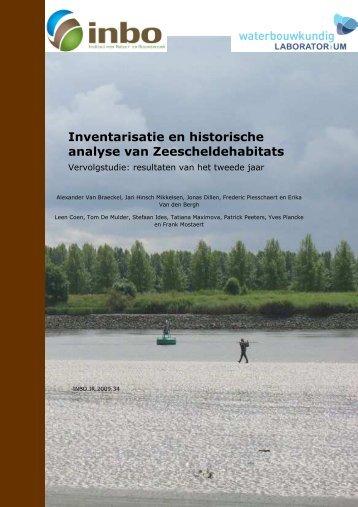Inventarisatie en historische analyse Zeescheldehabitats ...