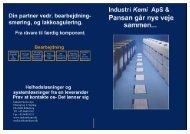 Original teknisk datablad i PDF format. - Industri Kemi Aps.