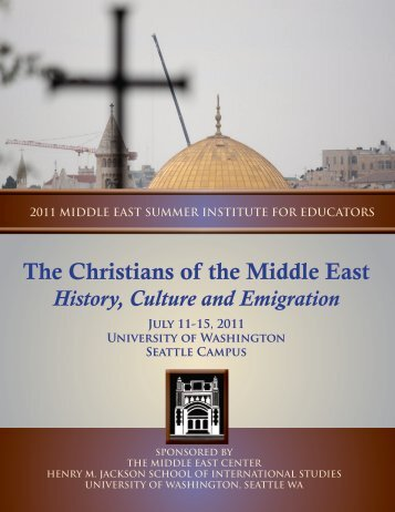 The Christians of the Middle East - Jackson School of International ...