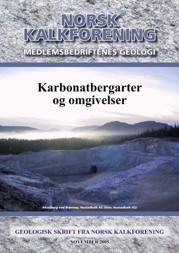 Geologisk Skrift - rådgivande agronomar as