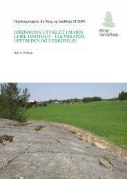 jordsmonn utviklet i marin leire i østfold - Skog og landskap