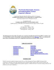 Florida Stormwater, Erosion, and Sedimentation Control Inspector's ...
