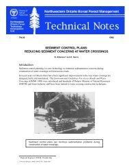sediment control plans: reducing sediment concerns at water ...