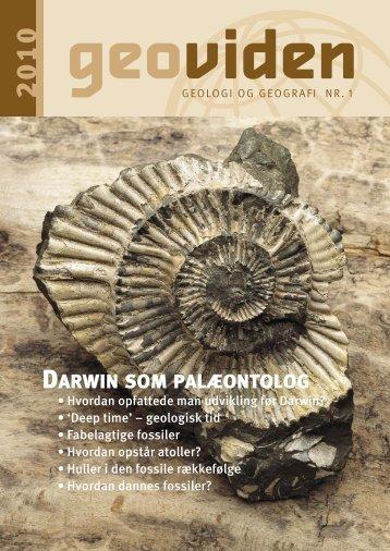 DARWIN SOM PALÆONTOLOG - Geocenter København