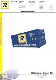 Last ned vår PRODUKT KATALOG - Rcontainer