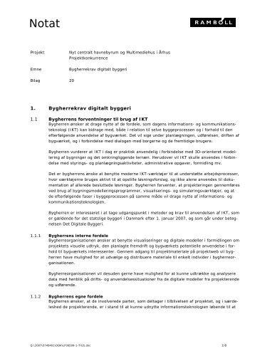 Ydelsesbeskrivelse Byggeri og Planlægning - Foreningen af ...