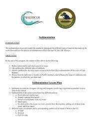 Hunt for the Alligator - Sedimentation - Nauticus