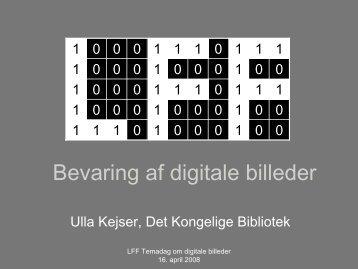 Bevaring af digitale billeder