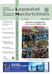 LOP AUT ALNACHRICHTEN LOP AUT ... - Amelinghausen