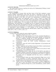 NC General Statutes - Chapter 113A Article 4 1 Article 4 ...