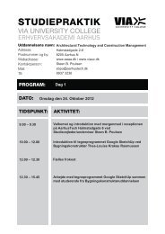 Program, Architectural Technology and Construction Management