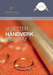 Sigmund Espeland AS tilbyr følgende tjenester: Leieproduksjon