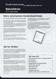 Juni 2003: Nyhedsbrev nr. 2 - Byggeriets Kvalitetskontrol