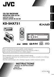 KD-SHX751 - Jvc