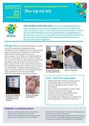 Her-og-nå lek - Senter for IKT i utdanningen