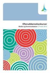 Se det samlede katalog over grafiske kurser med detaljerede kursus ...