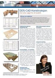 DDS-CAD Konstruksjon - Data Design System ASA