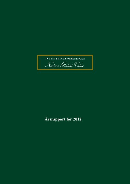 Årsrapport for 2012 - Nielsen - Global Value