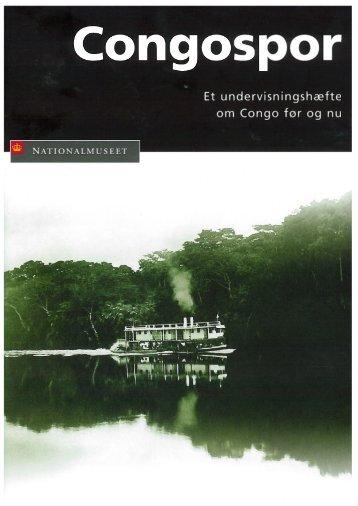 Undervisningsmaterialet 'Congospor' - Nationalmuseet