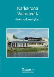 Karlskrona Vattenverk - Karlskrona kommun