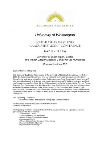 University of Washington - Jackson School of International Studies ...