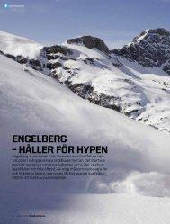 ENGELBERG – HåLLER föR HypEN