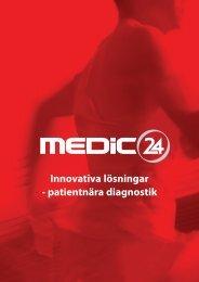 Innovativa lösningar - patientnära diagnostik - Medic24