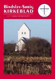 Bindslev-Sørig kirkeBlad - Bindslev-Sørig pastorat
