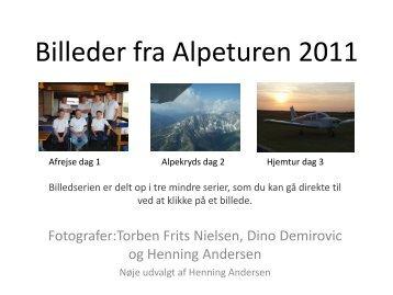 Billeder fra Alpeturen 2011 - Midtjysk Flyveklub