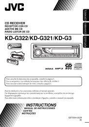 Πρόσοψη — KD-G322/KD-G321/KD-G3 - Jvc