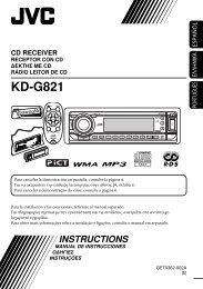 KD-G821 - Jvc