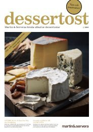 Dessertost broschyr - Martin & Servera