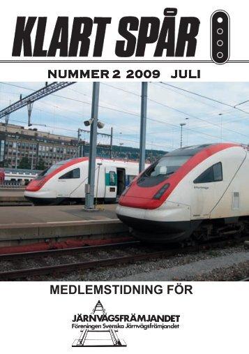 25837 Klart Spår 2-09 - Järnvägsfrämjandet