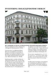 Prospekt Stephan Strasse, Berlin - andersen-development