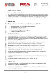 Kritiske revisorers beretning Regnskab 2010 Revision ... - Prosa