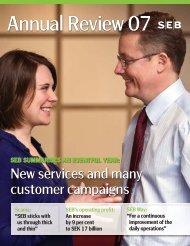 Annual Review 2007 - SEB
