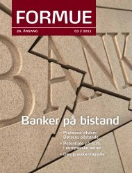 Banker på bistand - Formuepleje