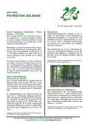 Nr. 45, Odense, den 7. april 2007 - Patriotisk Selskab
