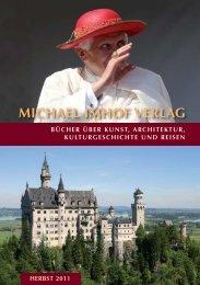 Bücher siehe unter: www.imhof-verlag.de - Michael Imhof Verlag