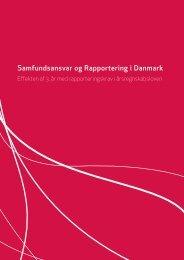 Samfundsansvar og Rapportering i Danmark - Effekten af 3. år med ...